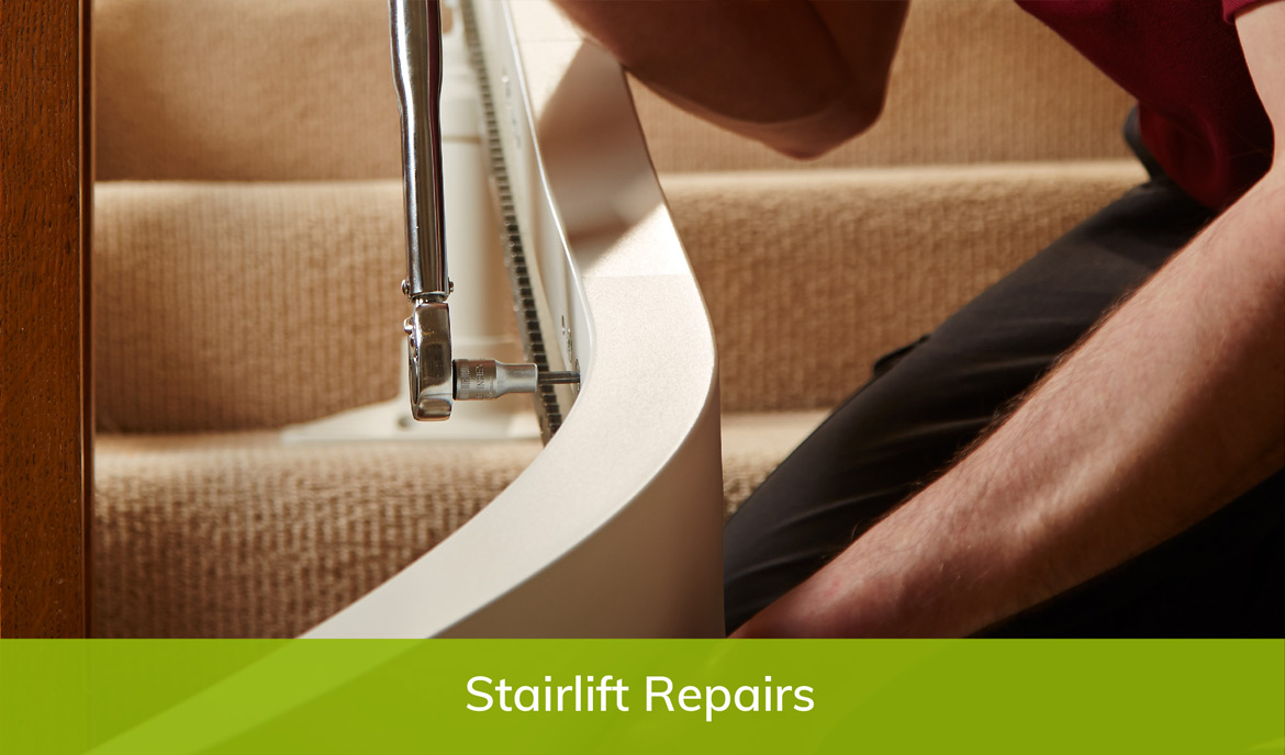 Straight stairlift prices page repairs image