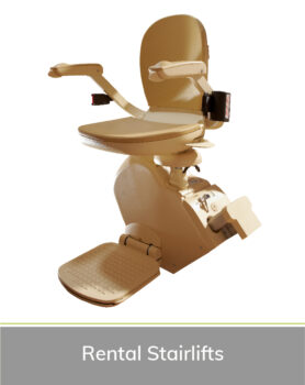 Priority Stairlifts Nottingham product image of rental stairlift