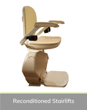 Priority Stairlifts Nottingham product image of reconditioned stairlift