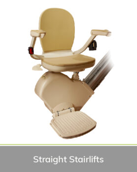 Priority Stairlifts Nottingham product image of straight stairlift